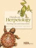 Hands on Herpetology Book Cover